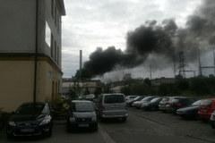 Pożar w Zakładach Górniczo-Hutniczych w Bukownie