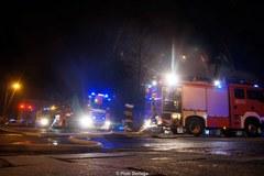 Pożar zabytkowego młyna w Tarnowie