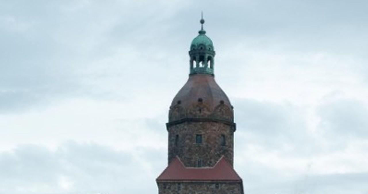 Pożar zamku Książ w Wałbrzychu