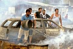 Pożar zniszczył obóz romskich uchodźców w Czarnogórze