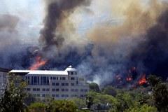 Pożary buszu w Kalifornii. Niesamowite zdjęcia
