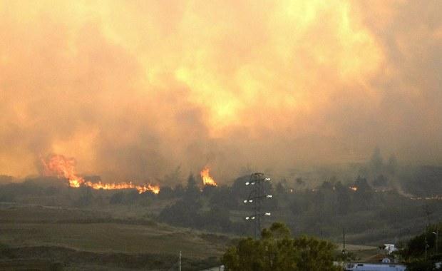Pożary na Gran Canarii. Ewakuowano już ponad tysiąc osób