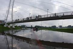Poznań po ulewnych deszczach