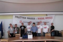 Poznań: Związkowcy okupowali urząd wojewódzki