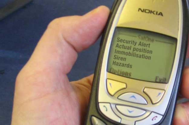 Pozycja samochodu może zostać namierzona poprzez lokalizację nadajnika GSM /