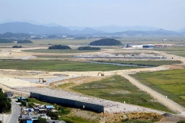 Prace budowlane na torze w Yeongam przebiegają zgodnie z planem /AFP