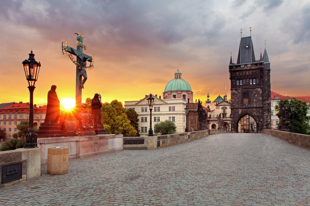 Praga - widok z mostu Karola /123/RF PICSEL