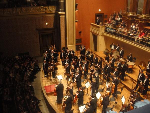 Koncert noworoczny, filharmonia w Pradze 2011r.