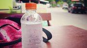 Praktyczna butelka pełna witamin