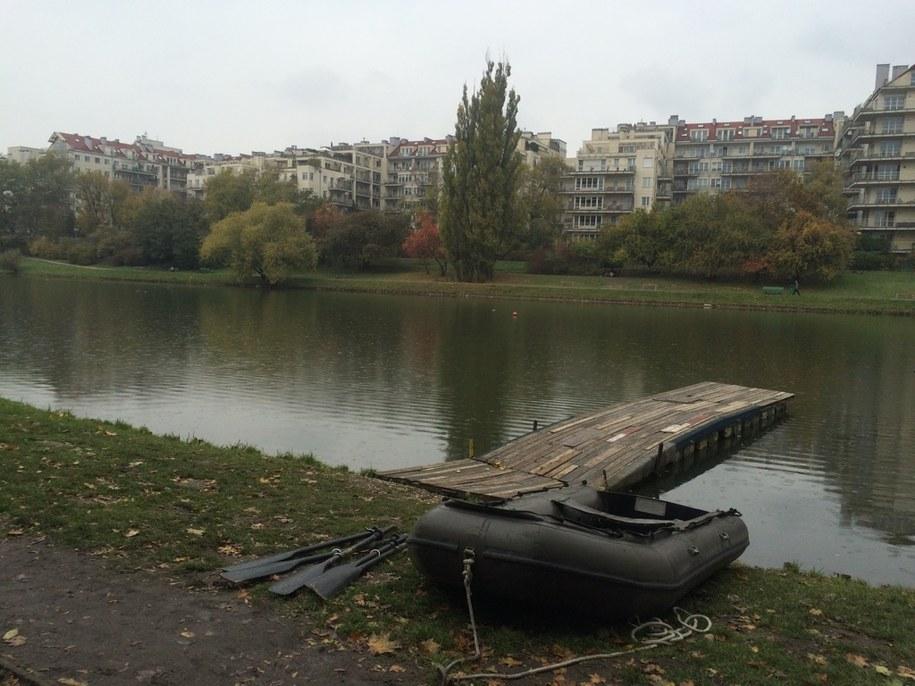 Prawdopodobnie w Jeziorku Kamionkowskim znajdują się pozostałości brytyjskiego samolotu Liberator zestrzelony przez Niemców w sierpniu 1944 rok /Michał Dobrołowicz /RMF FM