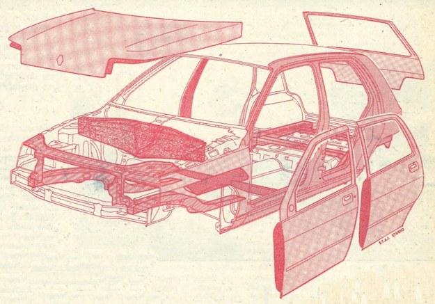 Prawie 40% blach nadwozia chronionych jest przed korozją za pośrednictwem specjalnych powłok nakładanych galwanicznie. /Motor