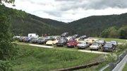 Prawie 70 zabytkowych mercedesów na zlocie w Bielsku-Białej