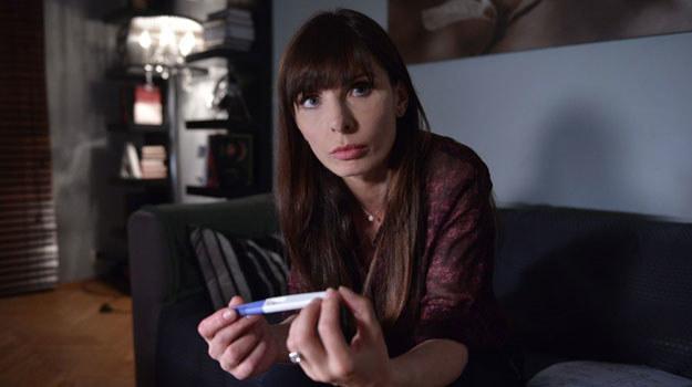 """""""Prawo Agaty"""": Agata (Agnieszka Dygant) nieoczekiwanie odkryje, że spodziewa się dziecka /Agencja W. Impact"""
