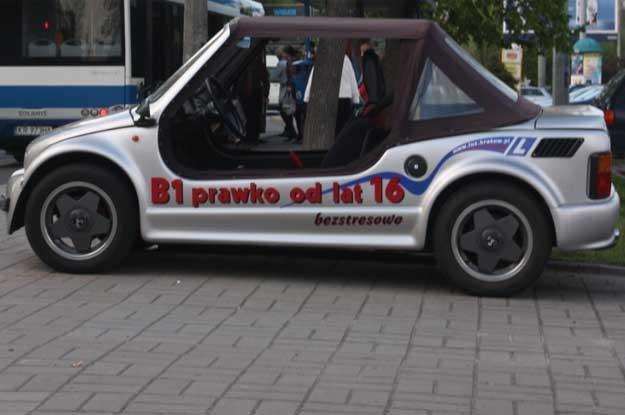 Prawo jazdy kategorii B1 można zrobić w wieku 16 lat. To się nie zmieni /