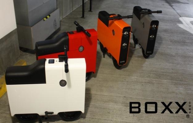 Prędkość maksymalna Boxx'a to 56 km/h.   Fot. BOXX /Internet