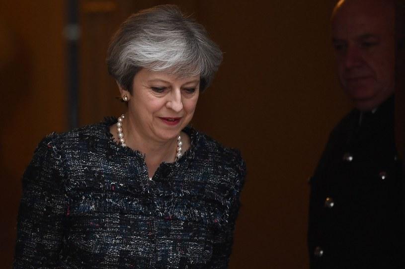 Premer Wielkiej Brytanii Theresa May. /JUSTIN TALLIS /East News