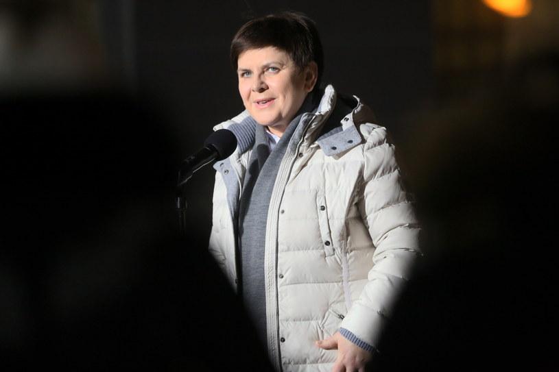 Premier Beata Szydło  opuściła szpital /Leszek Szymański /PAP