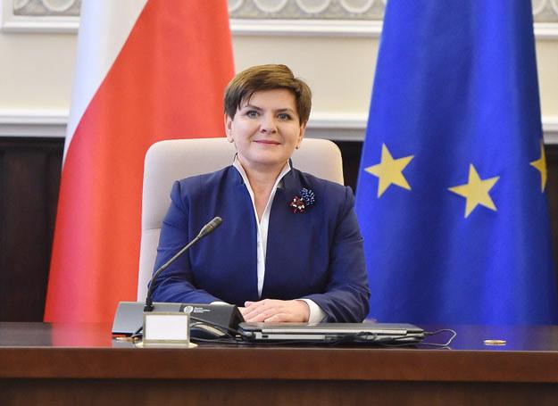 Premier Beata Szydło /Mateusz Jagielski /East News