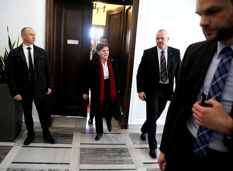 Premier Beata Szydło /Tomasz Gzell /PAP
