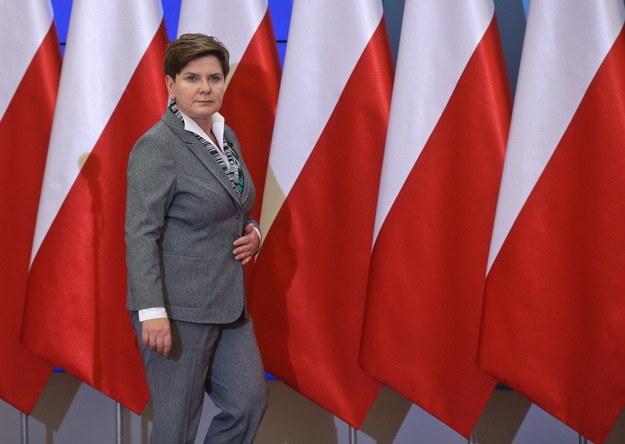 Premier Beata Szydło /Rafał Guz /PAP