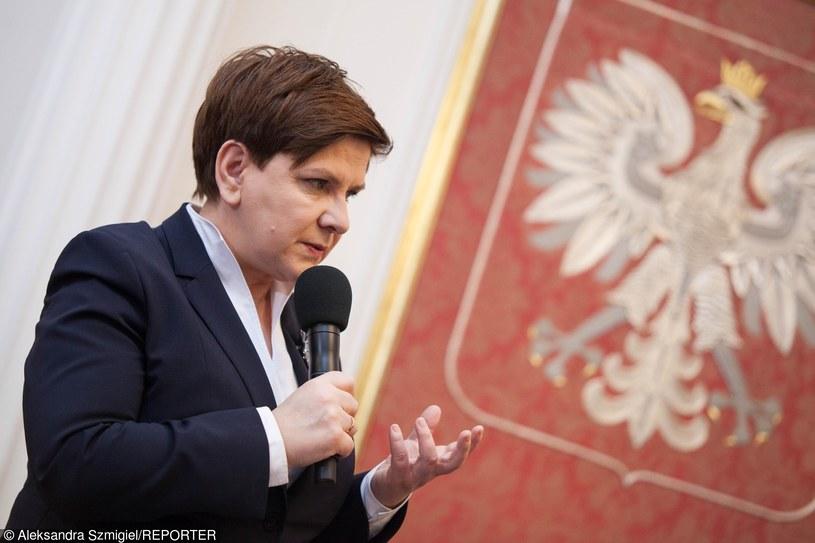 Premier Beata Szydło /Aleksandra Szmigiel-Wiśniewska /East News