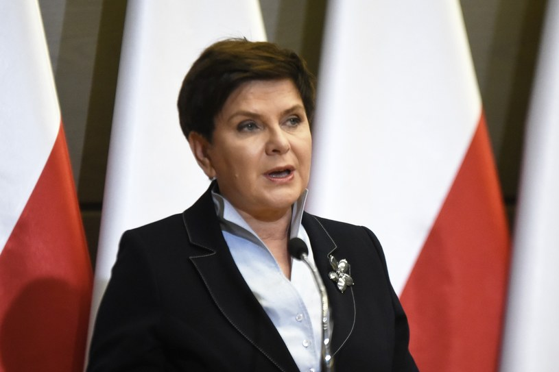 Premier Beata Szydło /M.Lasyk /Reporter