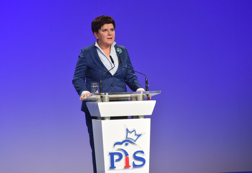 Premier Beata Szydło /Jacek Bednarczyk /PAP