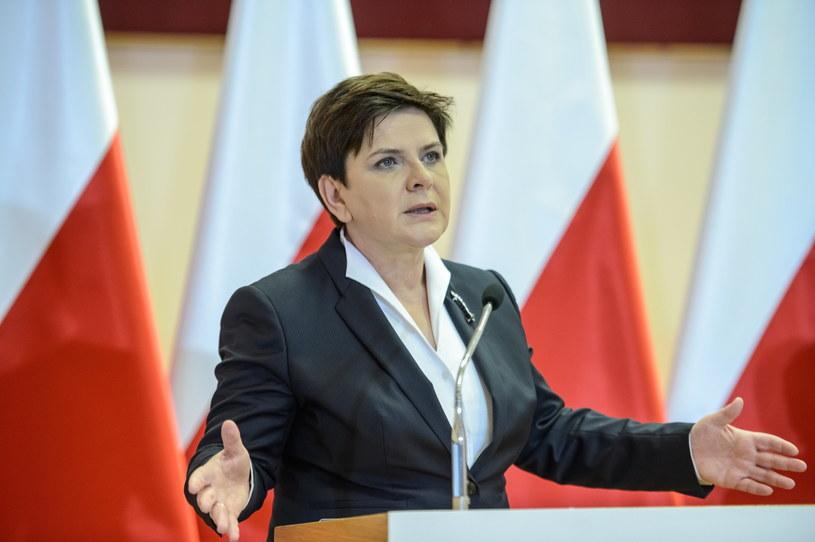 Premier Beata Szydło /Wojciech Pacewicz /PAP
