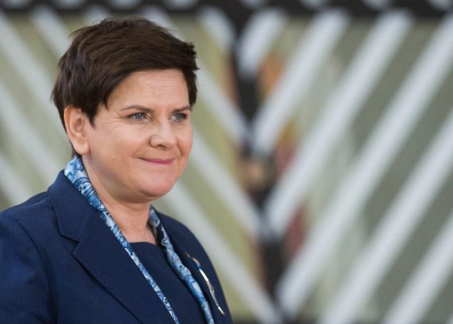 Premier Beata Szydło /STEPHANIE LECOCQ  /PAP/EPA