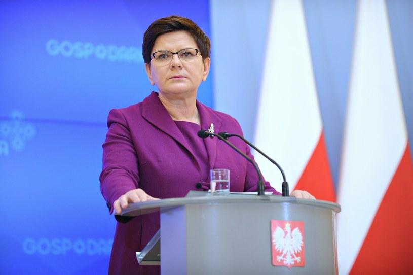 Premier Beata Szydło /Bartosz Krupa /East News