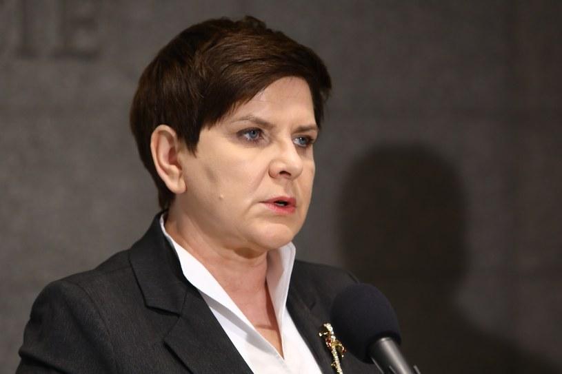 Premier Beata Szydło / Stanislaw Kowalczuk /East News