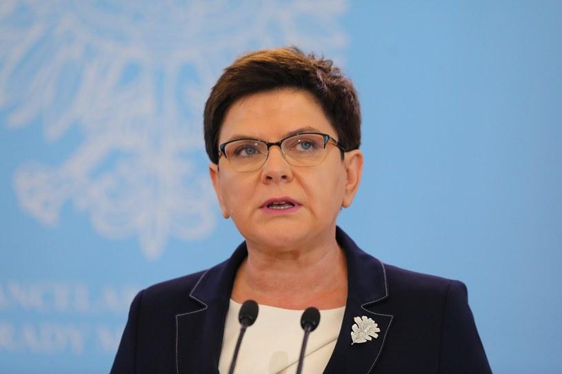 Premier Beata Szydło /Fot. Stanislaw Kowalczuk /East News