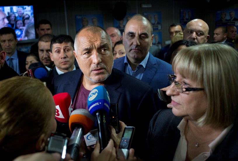 Premier Bojko Borysow /AFP