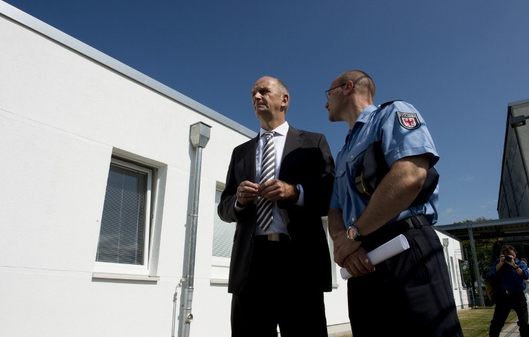 Premier Brandenburgii Dietmar Woidke /AFP