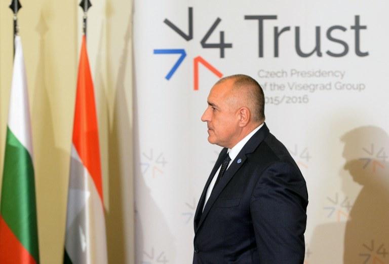 Premier Bułgarii Bojko Borisow (na zdj.) przyjął dymisję Petkowa /MICHAL CIZEK /AFP