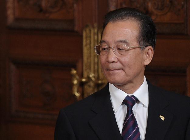 Premier Chin Wen Jiabao /PAP/EPA