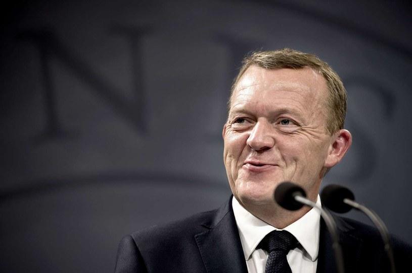Premier Danii Lars Loekke Rasmussen /KELD NAVNTOFT /AFP