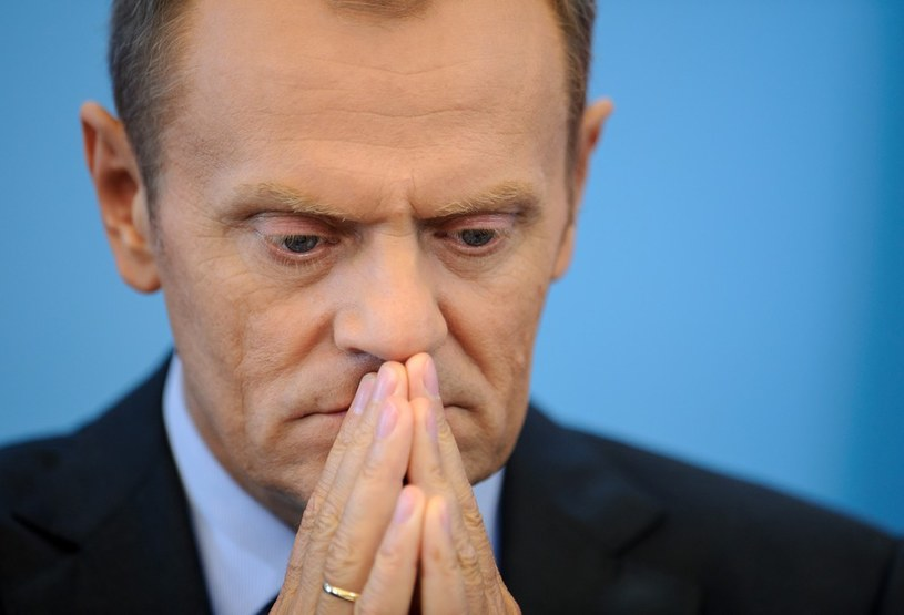"""Premier Donald Tusk poinformuje o """"planach i zamiarach na najbliższe 2 lata i najbliższe 7 lat"""". /Rafał Oleksiewicz /Reporter"""