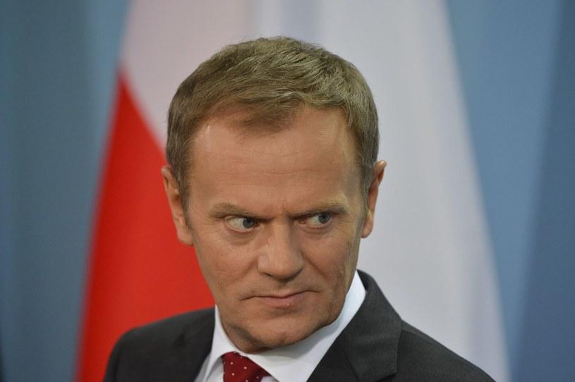 Premier Donald Tusk /AFP