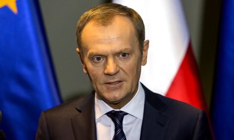 Premier Donald Tusk. /Bartosz Jankowski /PAP