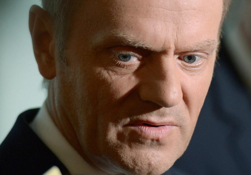 Premier Donald Tusk. /Radek Pietruszka /PAP