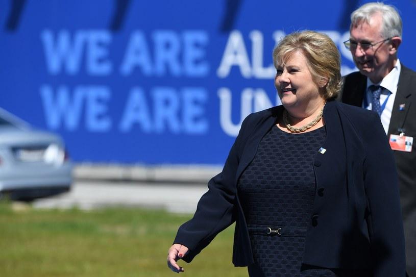 Premier Erna Solberg /AFP