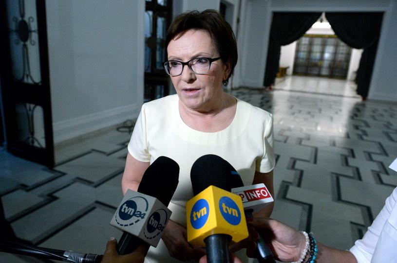 Premier Ewa Kopacz /Marcin Obara /PAP