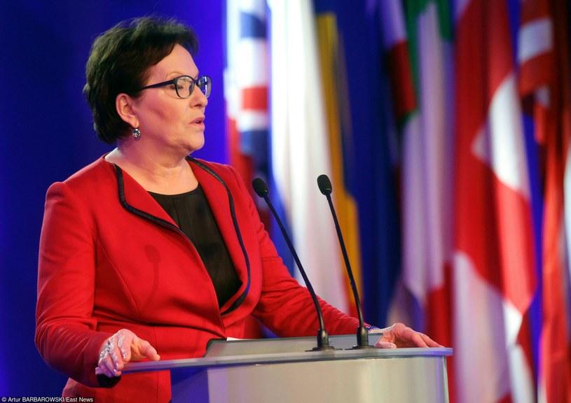 Premier Ewa Kopacz /Artur Barbarowski /East News