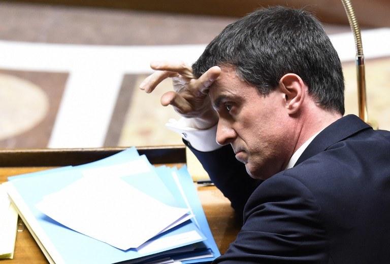 Premier Francji Manuel Valls /ALAIN JOCARD /AFP