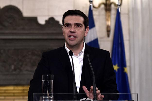 Premier Grecji Aleksis Cipras: Polityczny awanturnik? fot. Aris Messinis /AFP