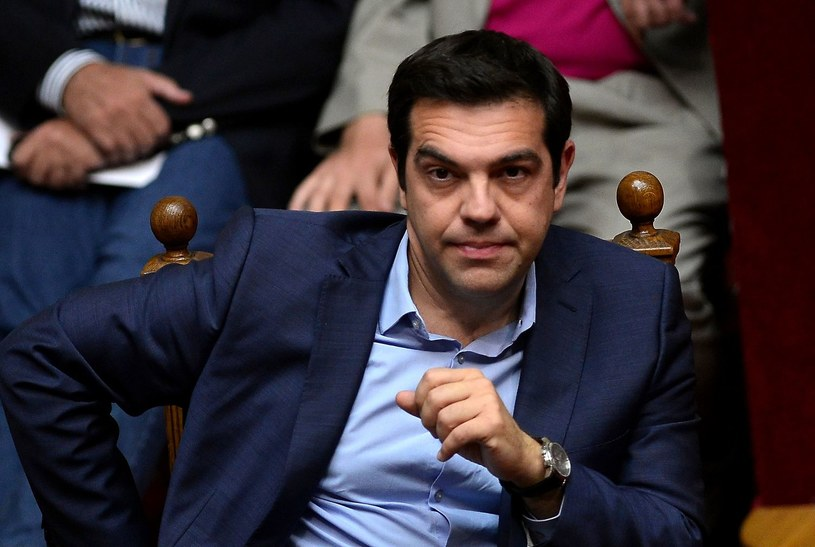 Premier Grecji Aleksis Cipras /AFP