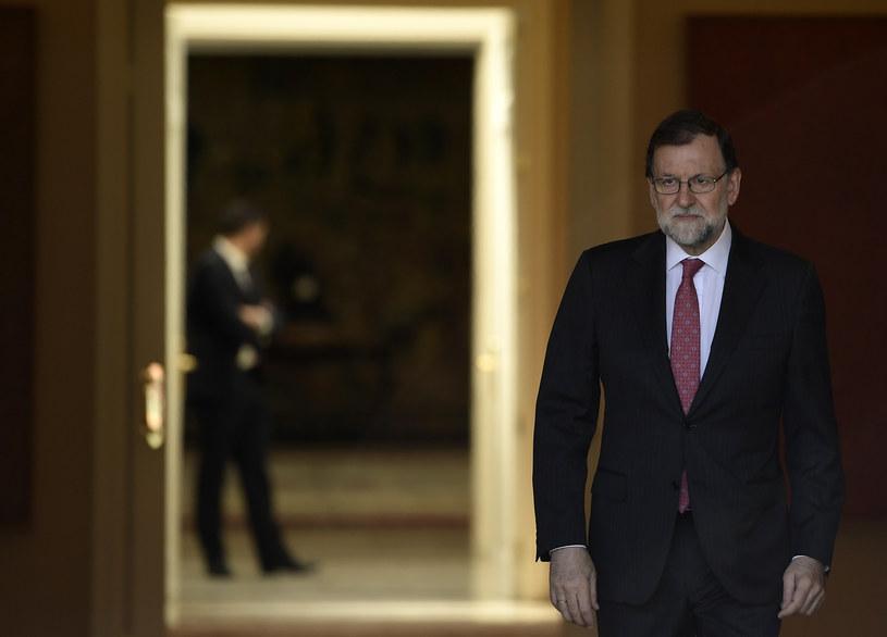 Premier Hiszpanii Mariano Rajoy /AFP