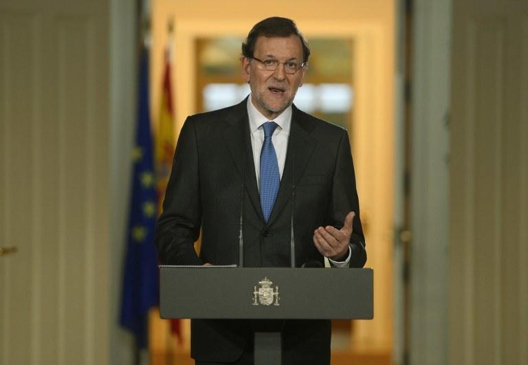 Premier Mariano Rajoy /AFP