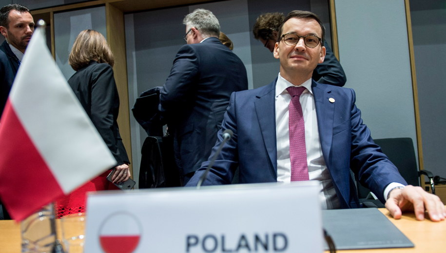 Premier Mateusz Morawiecki /Marcin Obara /PAP